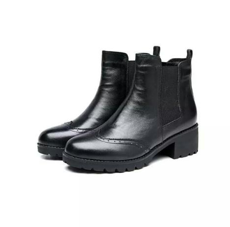 奥康皮鞋质量图片