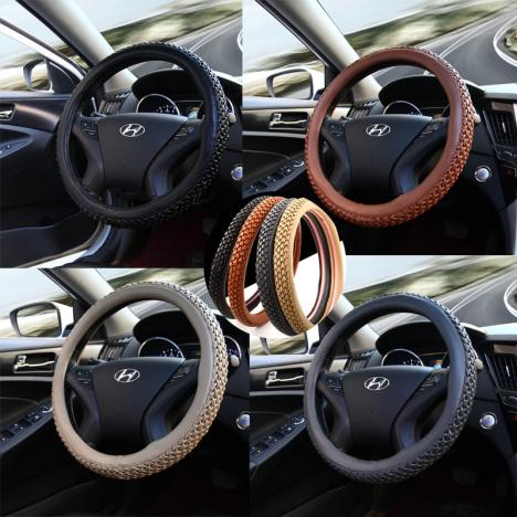 汽车方向盘需要买手缝方向盘套还是直接套上去比较好啊?