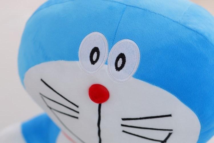 商品描述 可爱的叮当猫发光音乐公仔,三节普通的5号电池,发货前已经