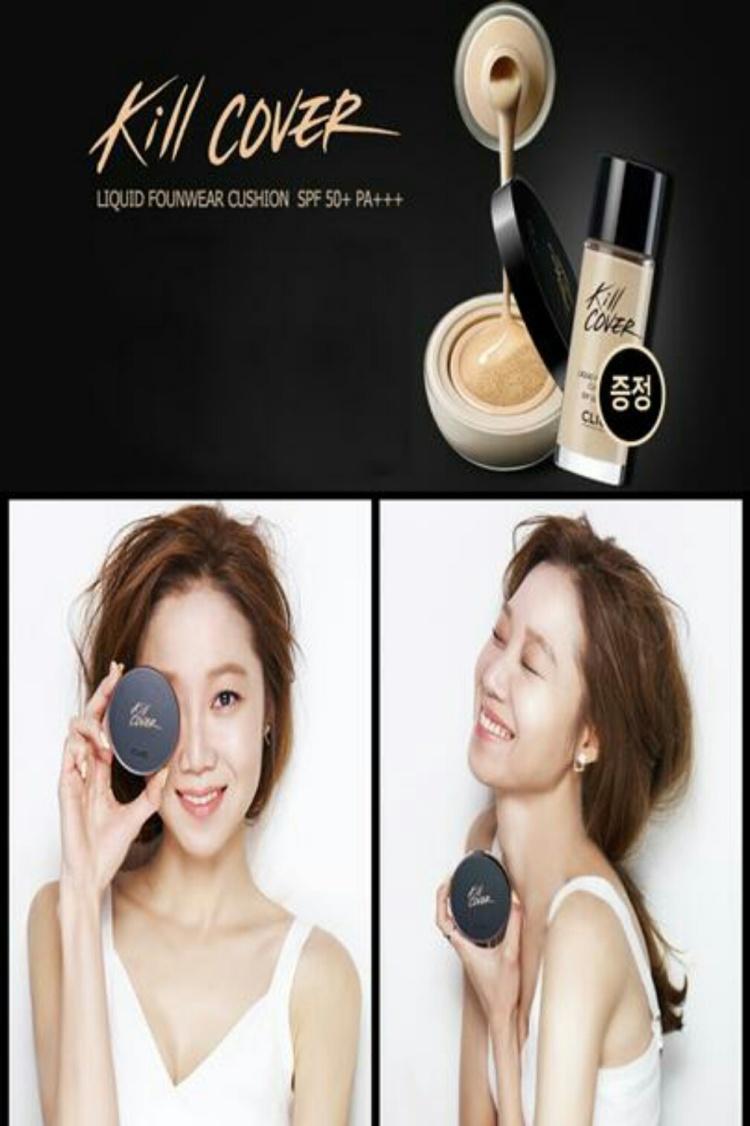 韩国免税正品代购clio珂莱欧气垫bb霜套盒 素颜妆前乳