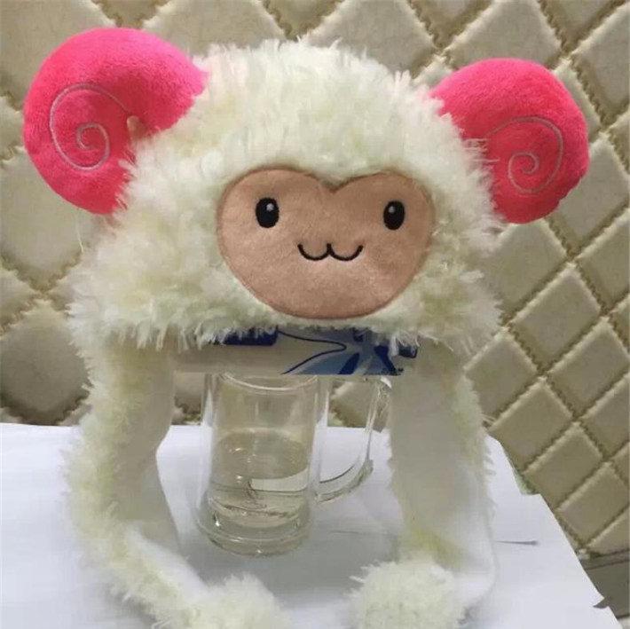 【可爱哒~卡通动物羊羊帽子】-女士配饰