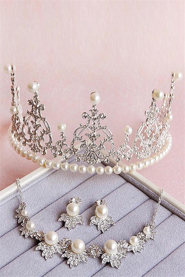 【新娘欧式巴洛克皇冠】-配饰-配饰