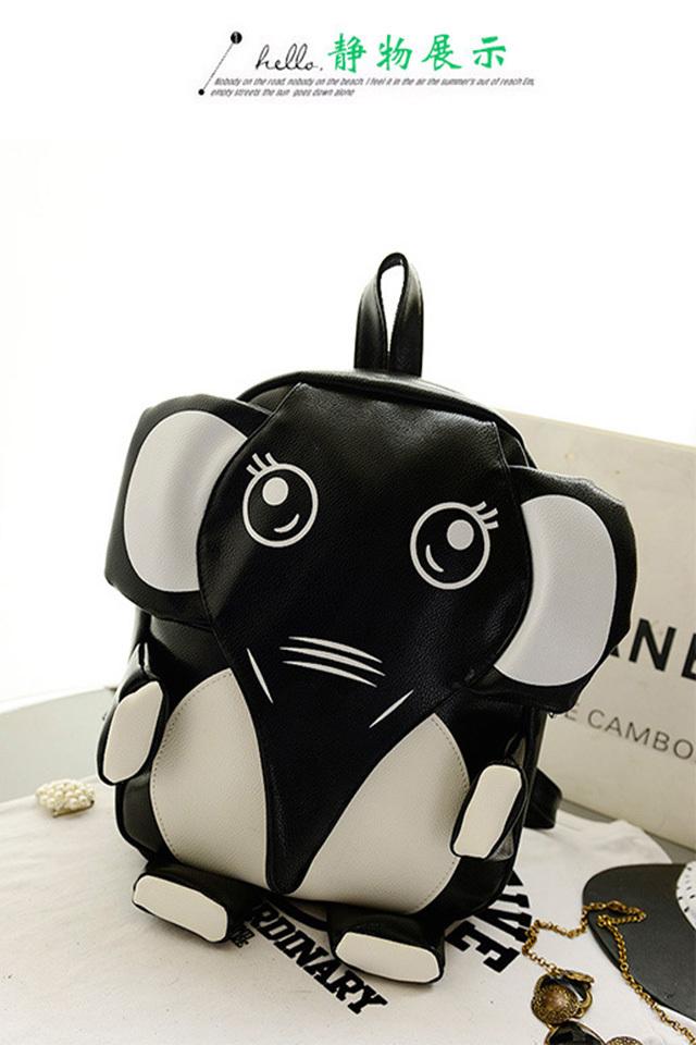 【【点点包】卡通动物个性双肩背包】-包包-双肩包