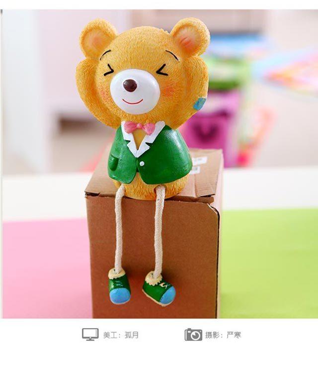 【【可爱超萌】实用家居饰品闺蜜结婚礼物摆件小熊】