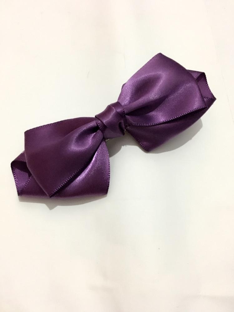 【紫色蝴蝶结夹子】-无类目-配饰