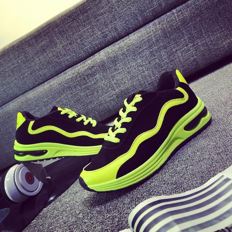 【荧光色女生运动鞋】-鞋子-靴子