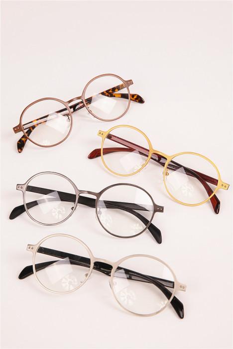 【2016新款复古韩版全框眼镜磨砂圆形框架金属镜框架