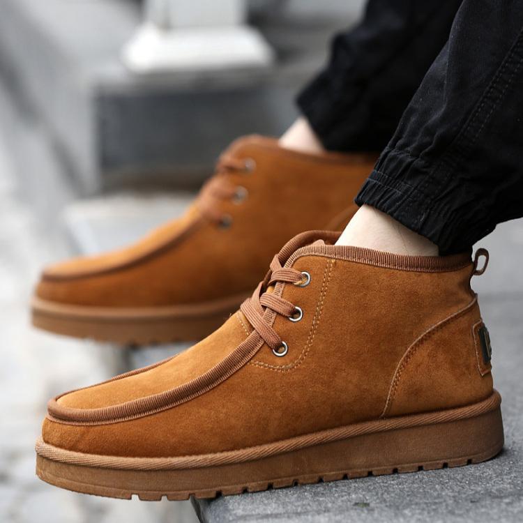 贝克汉姆冬季男士雪地靴】-男装-靴子