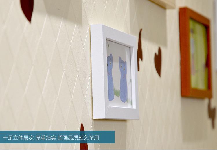 客厅钟表心形欧式照片墙相片墙挂墙相框背景墙创意组