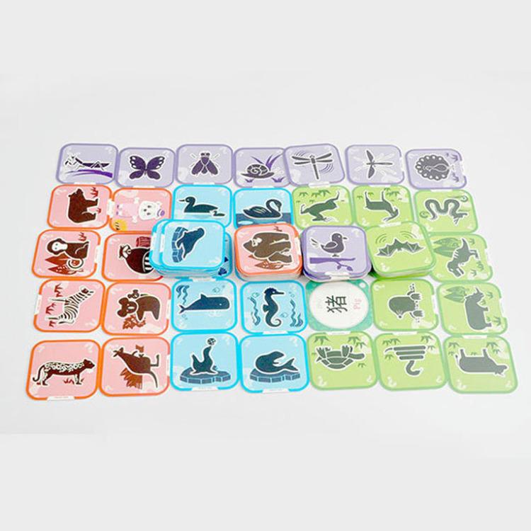 【小熊尼奥ar立体口袋动物园3d智能早教看图识字卡片