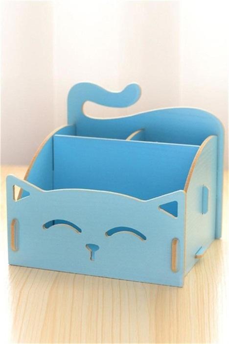 可爱猫咪收纳盒