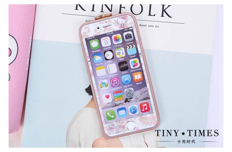 苹果iphone6凯蒂猫边框】-配饰-手机