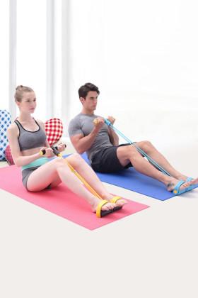 家用踩脚运动拉力器(瘦腰收腹肌)