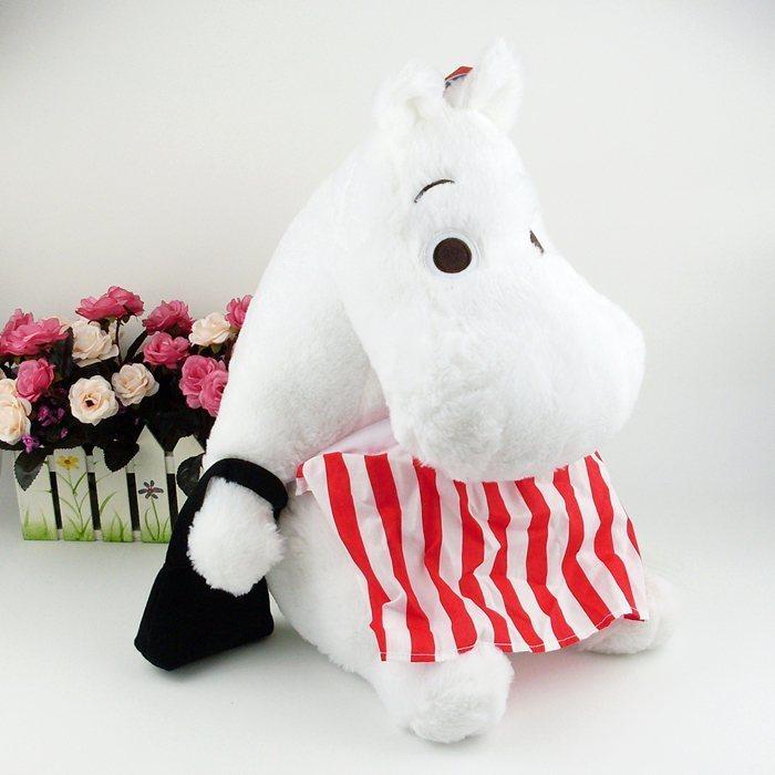 【姆明一家河马毛绒公仔可爱娃娃毛绒玩具节日礼物