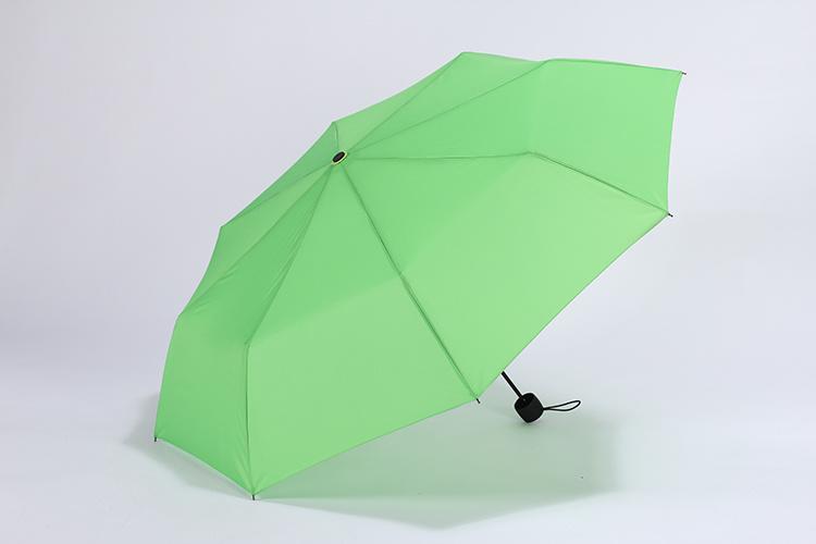 小清新纯色雨伞