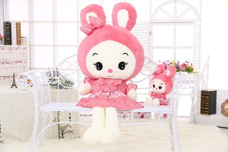 【美美哒~可爱卡通公主兔公仔】-母婴-母婴毛绒布艺