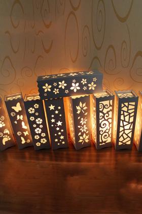 雕花欧式床头台灯