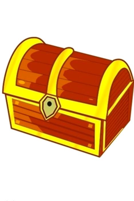 宝箱图标矢量图