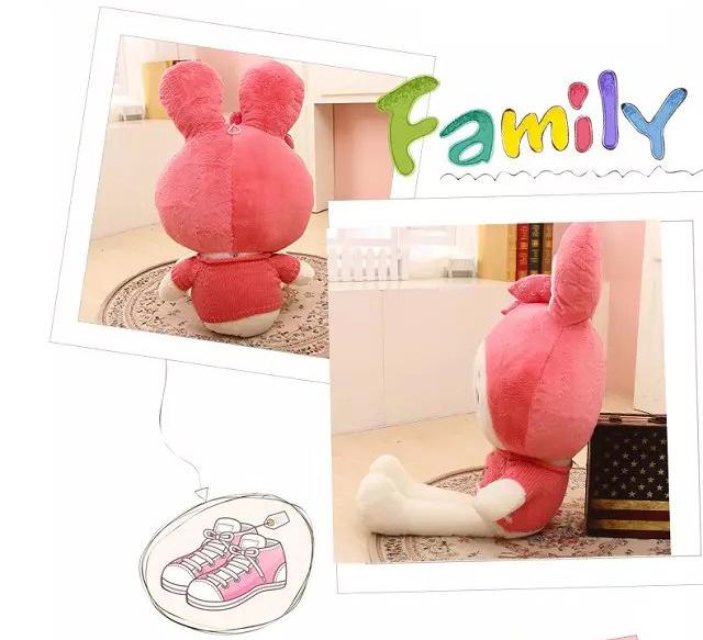 【可爱公主兔女生毛绒娃娃】-母婴-母婴用品