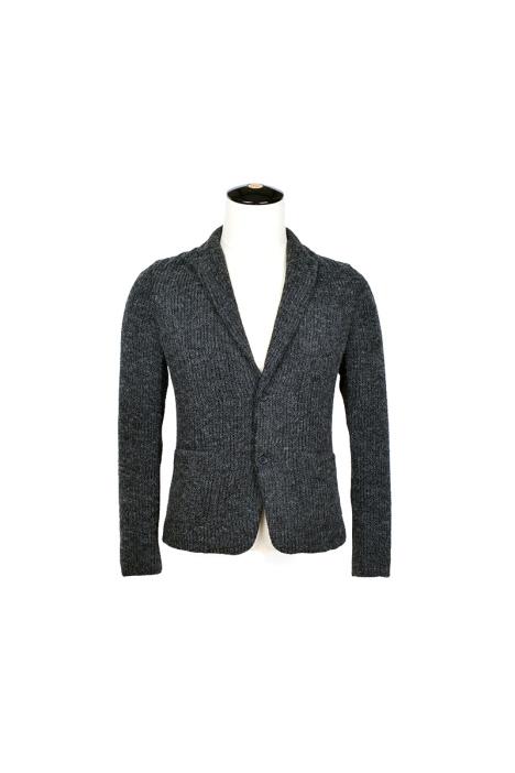 2015春装 针织衫男修身v领毛衣男 开衫夹克外套男简约