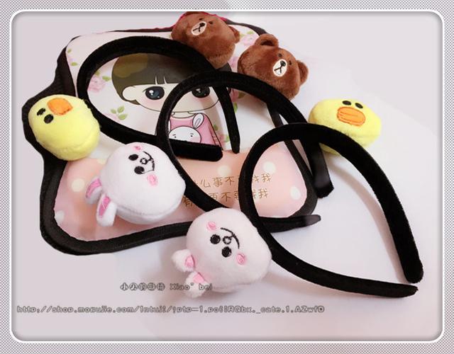 韩国网红百搭可爱头饰小动物发箍