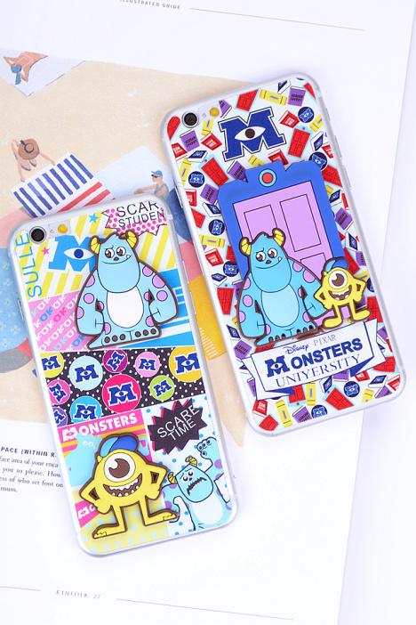 【小怪兽 苹果iphone6卡通钢化膜】-配饰-手机贴膜