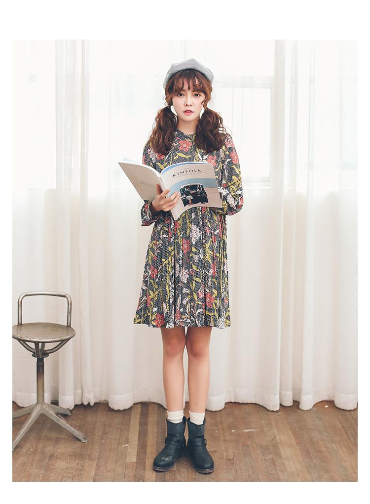 宽松娃娃裙韩国