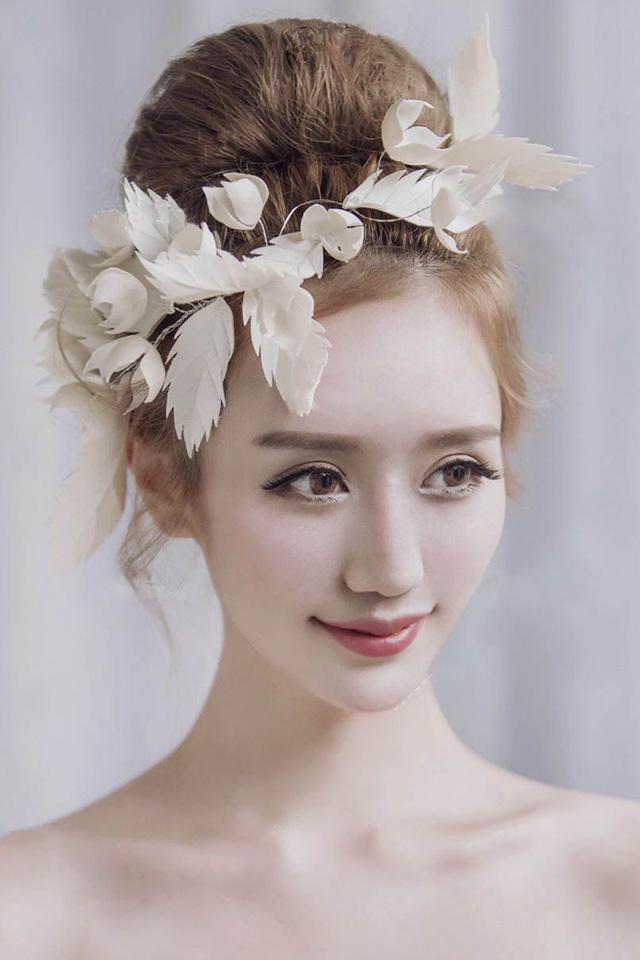 欧式英伦复古枫叶边夹发饰名媛新娘头饰影楼拍照配饰饰品