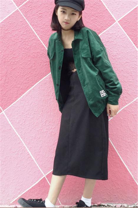 【日系原宿ulzzang灯芯绒外套夹克】-其他外套