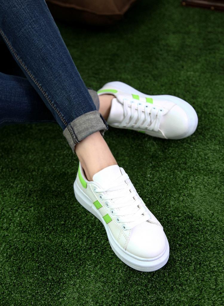 小白鞋带的系法图解3孔