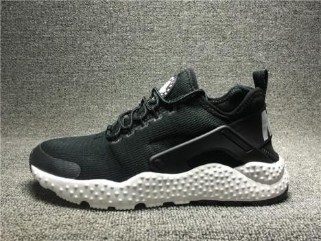正品耐克男女鞋 华莱士3代 黑白情侣跑步鞋