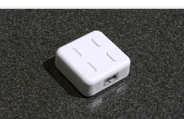 4口usb 智能排插 充电器 手机/平板通用 苹果通用