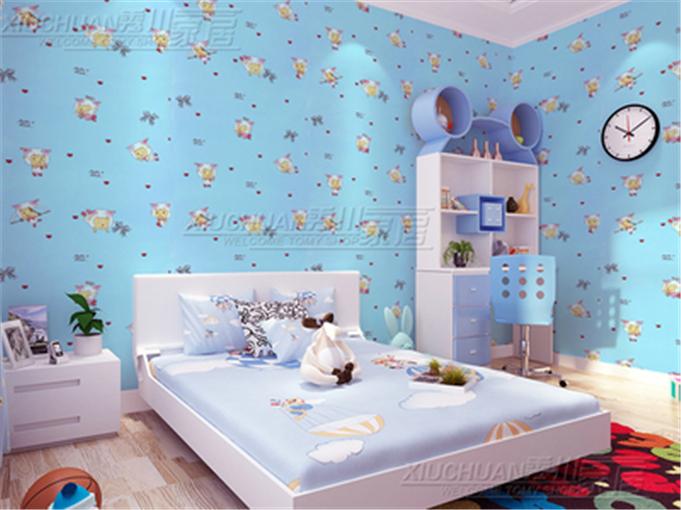 室客厅背景墙儿童房欧式