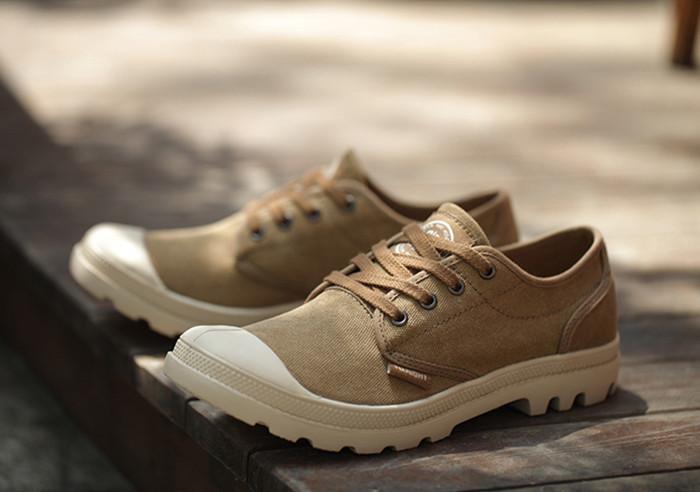 傲诺复古个性低帮帆布鞋帕拉丁休闲板鞋palladium男鞋