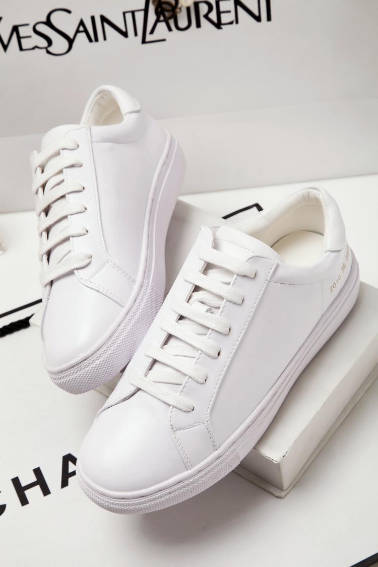 小白鞋女单鞋平底板鞋牌子品质好 新款好用