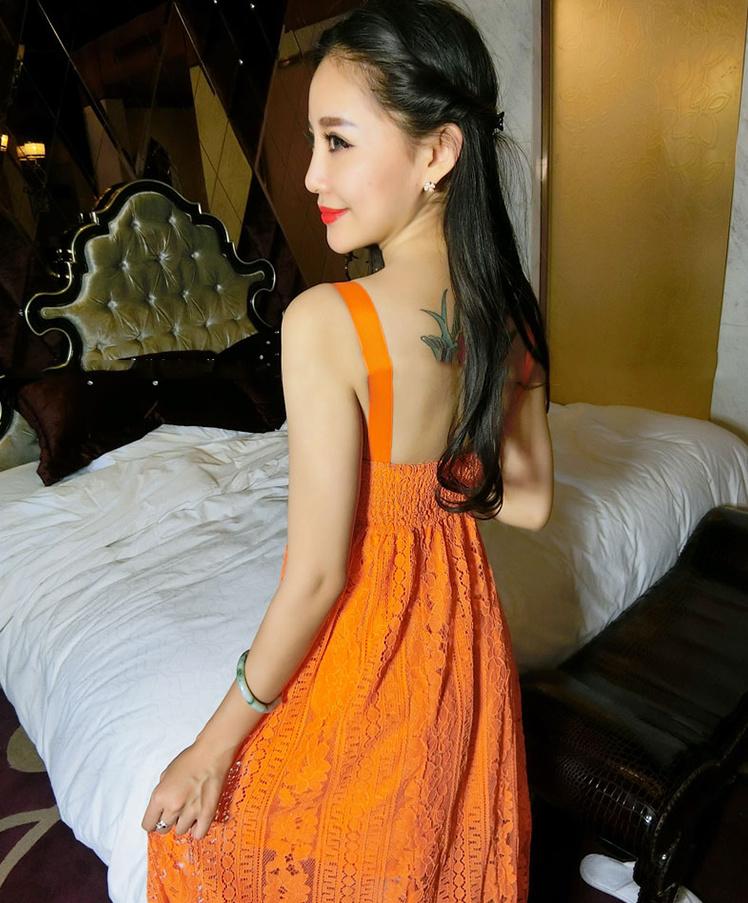 性感时尚名媛蕾丝连衣裙图片