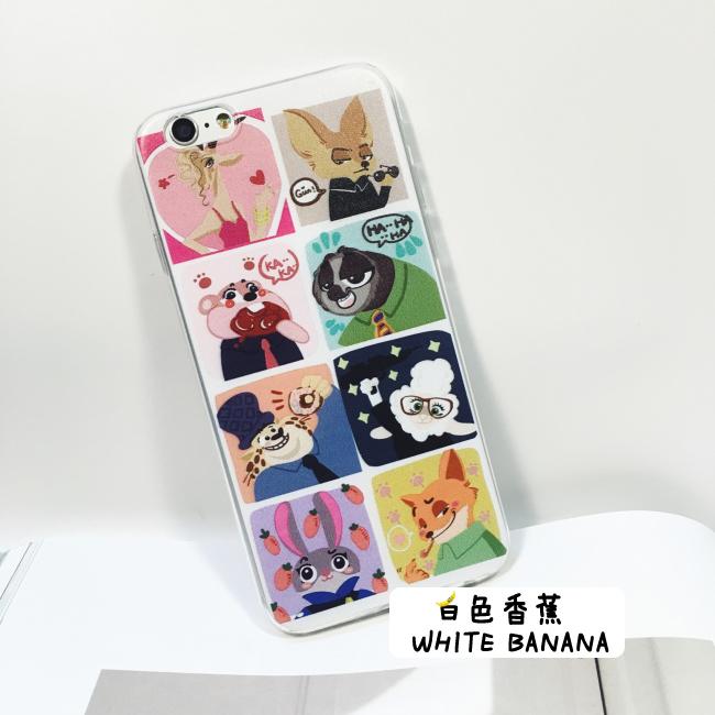【疯狂动物城朱迪iphone6s手机壳苹果6plus超薄硅胶