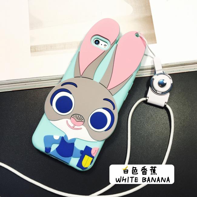 【疯狂动物城朱迪兔子iphone6s手机壳硅胶套苹果6p防
