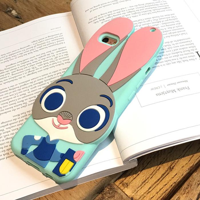 【新款疯狂动物城朱迪兔子iphone6s手机壳