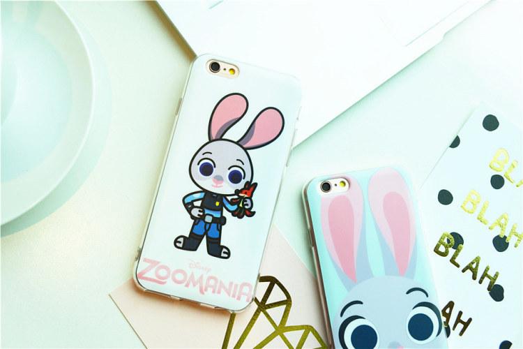 【maxim73苹果疯狂动物城手机壳】-配饰-3c数码