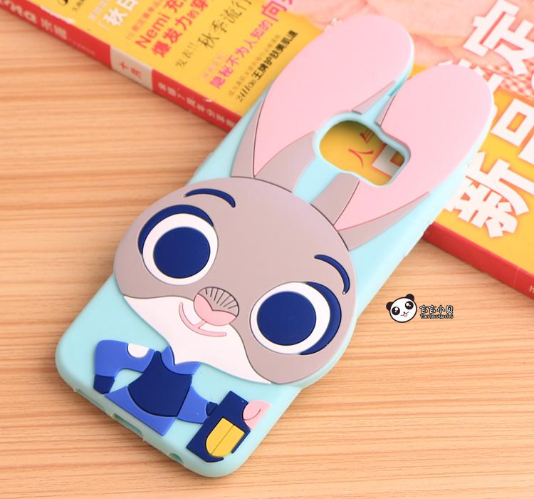 【新款疯狂动物园三星s6/g9200朱迪兔子手机硅胶壳】
