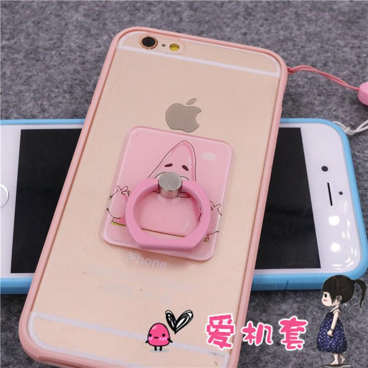 日本河马苹果6s保护套iphone6plus手机壳 卡通壳