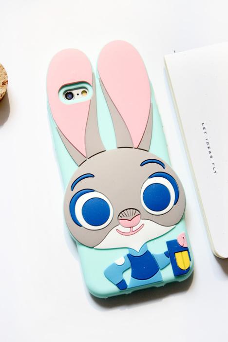 【疯狂动物城苹果iphone5/6s