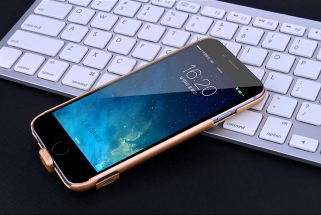 苹果6/6s/6p/6splus背夹电池无线超薄充电宝