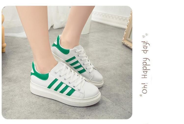 小白鞋系鞋带的方法和步骤图片