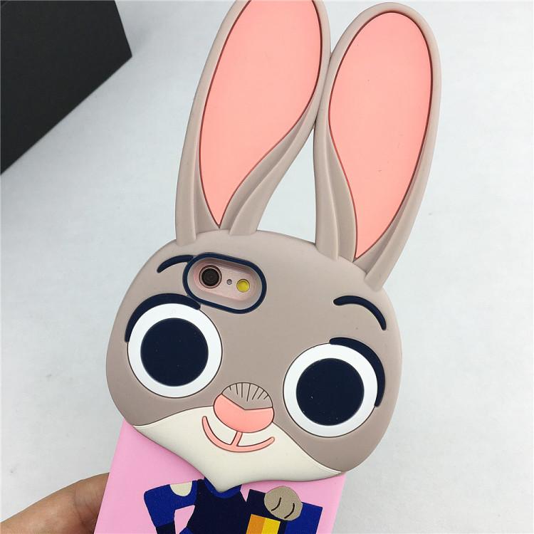 【朱迪兔子疯狂动物城苹果6s手机壳iphone6