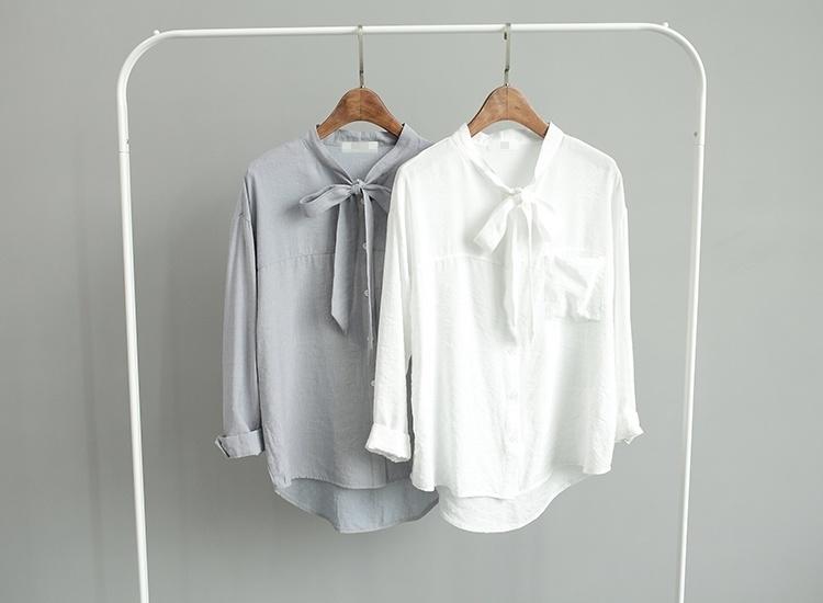 衬衣带子系法图解