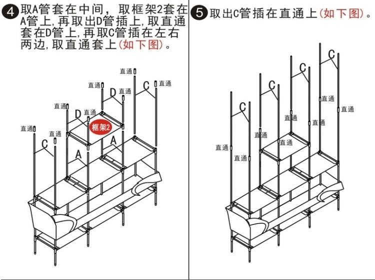 【组装衣柜简易布艺衣柜钢管加固加厚大号单人布衣橱