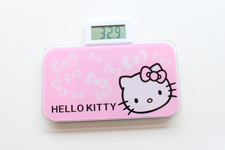 hello kitty迷你可爱电子秤(送电池)