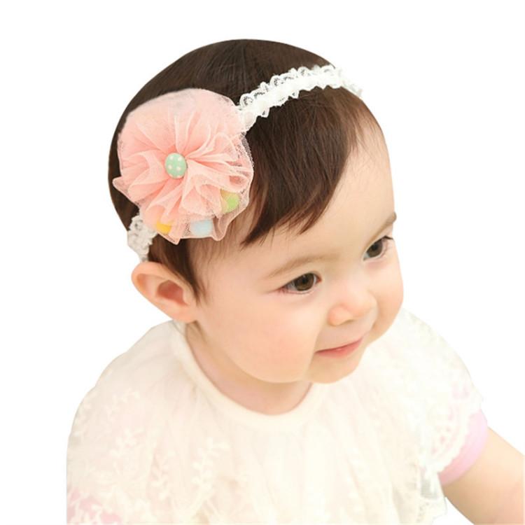 儿童发饰 宝宝发带 婴儿头饰头花 韩版 婴儿饰品